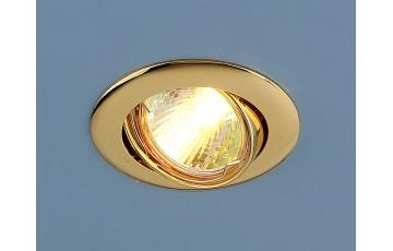 104S MR16 GD Встраиваемый светильник Elektrostandard золото