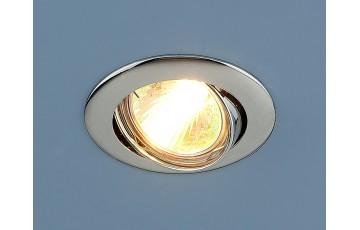 104S MR16 SS Встраиваемый светильник Elektrostandard сатин серебро