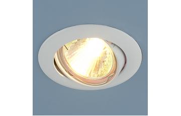 104S MR16 WH Встраиваемый светильник Elektrostandard белый