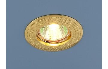 601 MR16 GD Встраиваемый светильник Elektrostandard золото