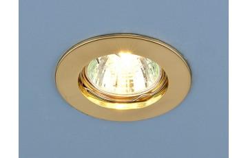 863 MR16 GD Встраиваемый светильник Elektrostandard золото