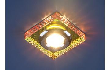 1058 (Clear/Multi) Встраиваемый светильник Elektrostandard зеркальный/мульти