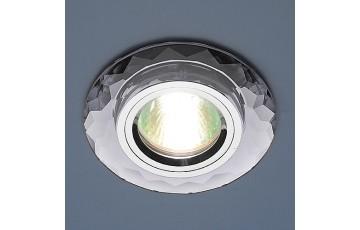 8150 MR16 SL Встраиваемый светильник  Elektrostandard зеркальный/серебро