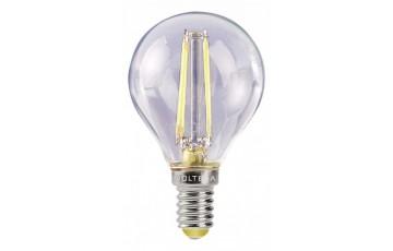 VG1-G1E14WARM4W-F Светодиодная лампа шар 4W Е14 2800К Voltega