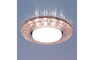 Встраиваемый светильник 3030 GX53 PK розовый