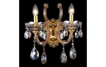 10654/2W Настенное бра Natali Kovaltseva Napoli GOLD, BRANDY