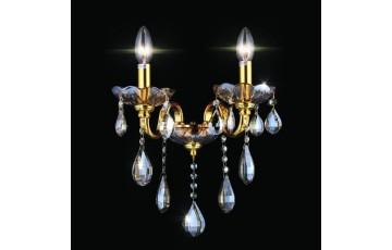 10655/2W Настенное бра Natali Kovaltseva Velletri GOLD, BRANDY