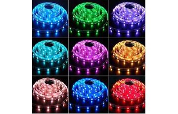 1м. Светодиодная лента RGB цвета 5050, 14.4W, 12V, 60LED/m, IP20 Lightstar 400050