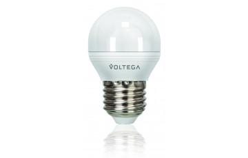Лампа светодиодная 4703 Шар Е27 4000К 5.7W VG2-G2E27cold6W Voltega