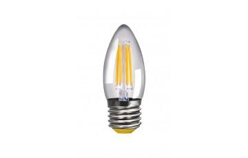 Лампа светодиодная 4669 Свеча Е27 2800К 4W VG1-C1E27warm4W-FF Voltega