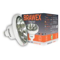 3906B-AR111m-12L Светодиодная лампа BRAWEX SENSE 12Вт 3000К AR111m GU10