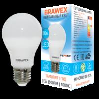 0307D-A60S-10N Светодиодная лампа BRAWEX SENSE 10Вт 4000К А60 Е27