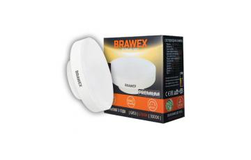 2606B-GX53b-7L Светодиодная лампа BRAWEX 6Вт 3000К GX53
