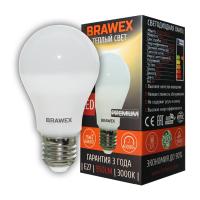 0307D-A60-11L Светодиодная лампа BRAWEX 11Вт 3000К А60