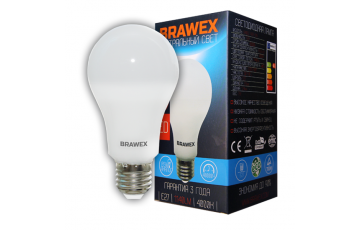 0406E-A65-12N Светодиодная лампа BRAWEX 12Вт 4000К А65 Е27