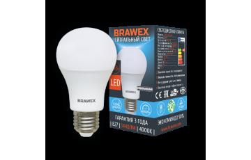 0314G-A60-13N Светодиодная лампа BRAWEX 16Вт 4000К А60 Е27