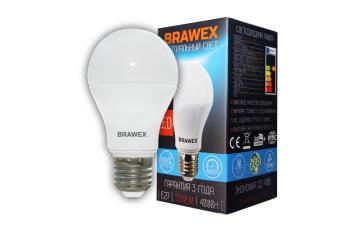 0305D-A60-14N Светодиодная лампа BRAWEX 14Вт 4000К А60 Е27