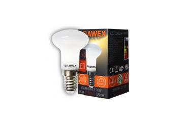 2807A-R39-3.5L Светодиодная зеркальная лампа BRAWEX 3,5Вт 3000К R39 Е14