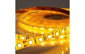 Лента светодиодная, тёплый белый свет  5 м IP20 14.4W/м 220V LED-STRIP Novotech 357112