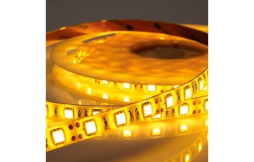 Лента светодиодная тёплый белый свет , 5м IP65 14.4W/м  220V LED-STRIP Novotech 357113