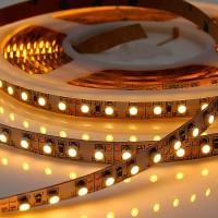 Лента светодиодная тёплый белый свет , 5м IP20 12W/м 220V LED-STRIP Novotech 357117
