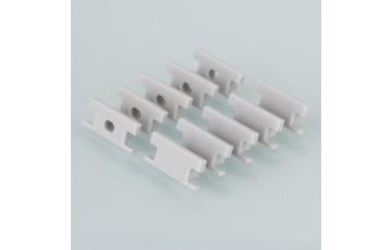ZLL-2-ALP002 Заглушки для встраиваемого напольного алюм.профиля для LED ленты (8mm) (компл.10 пар)