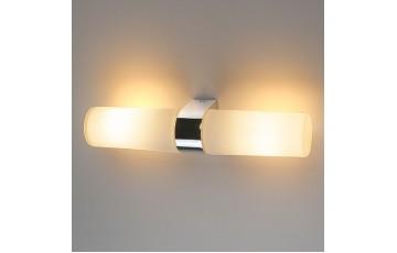 Картинная подсветка IP44 на 2 лампы Round 2х42W хром