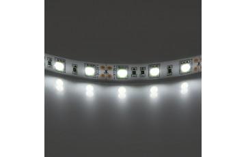 1м. Светодиодная лента белого цвета 5050, 4200К, 14,4W, 12V, 60LED/m, IP20 Lightstar 400054