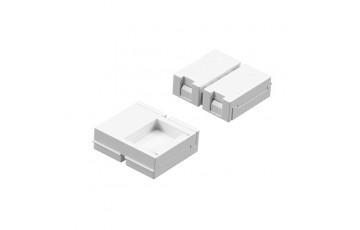 408110-1 Соединитель жесткий для ленты 12V 5050LED цветной RGB 400040-400050