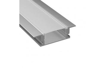 409309 Профиль с прямоугольным рассеивателем для светодиодных лент 3м Lightstar PROFILED