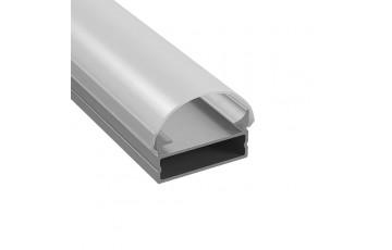 409319 Профиль с полукруглым рассеивателем для светодиодных лент 3м  Lightstar PROFILED