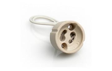 патрон под лампу GU10 керамический Electrostandart