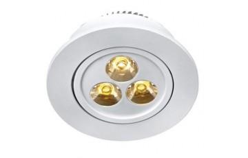 105137 Комплект из трех светодиодных встраиваемых точечных светильников Markslojd SIGMA