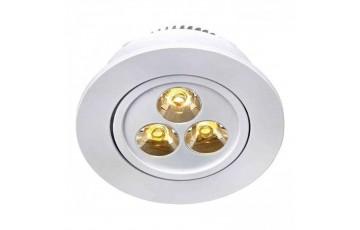 105789 Комплект из пяти светодиодных встраиваемых точечных светильников Markslojd SIGMA