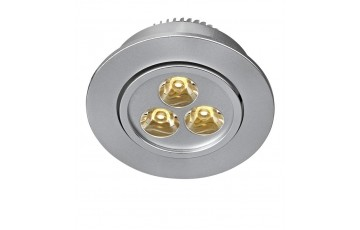 105888 Комплект из трех светодиодных встраиваемых точечных светильников Markslojd VEGA