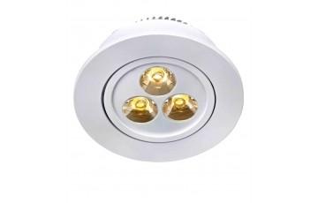 105889 Комплект из трех светодиодных встраиваемых точечных светильников Markslojd VEGA