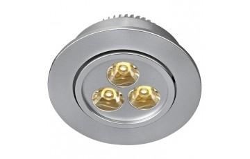 106065 Комплект из пяти светодиодных встраиваемых точечных светильников Markslojd VEGA