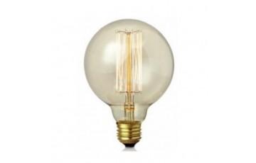 106184 Ретро лампа с декоративной нитью накаливания Markslojd CARBON