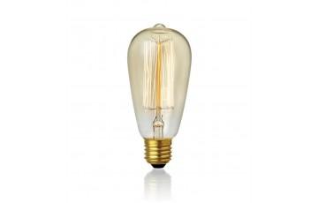 106186 Ретро лампа с декоративной нитью накаливания Markslojd CARBON