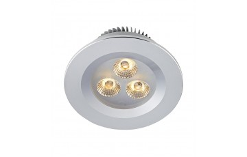 105798 Комплект из трех светодиодных встраиваемых точечных светильников Markslojd ZEUS LED 3-SET