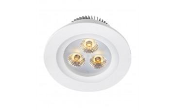 105797 Комплект из трех светодиодных встраиваемых точечных светильников Markslojd ZEUS LED 3-SET
