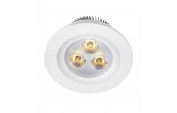105799 Комплект из пяти светодиодных встраиваемых точечных светильников Markslojd ZEUS LED 5-SET