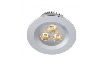 105800 Комплект из пяти светодиодных встраиваемых точечных светильников Markslojd ZEUS LED 5-SET