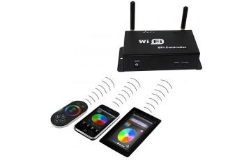 410984 Контроллер для светодиодных лент WiFi 100 12V/24V max 4A*3CH 36W Lightstar