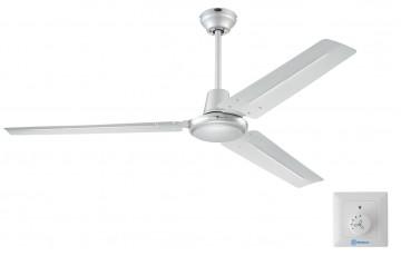 72501WES Потолочный вентилятор с настенным регулятором Westinghouse Industrial Silver
