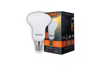 2906A-R50-7L Лампа рефлекторная светодиодная  R50 7W 220-240V 3000K E14 IC Brawex