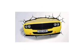 1CSC20002281 Пробивной 3D светильник 3DLightFx Muscle Car