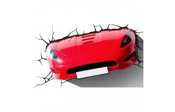 1CSC20002282 Пробивной 3D светильник 3DLightFx Sports Car