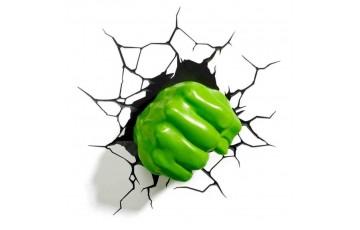 1CSC20002284 Пробивной 3D светильник 3DLightFx Hulk Fist