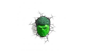 1CSC20002285 Пробивной 3D светильник 3DLightFx 3D Hulk – Face